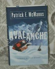 AVALANCHE by Patrick F. McManus SIGNED 1st  EDITION HC w/ DJ