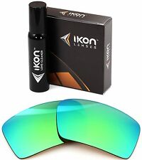 Polarized IKON Replacement Lenses For Von Zipper Snark - Emerald Green