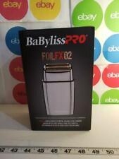 BaBylissPRO FOILFX02 Cordless Metal Double Foil Shaver FXFS2