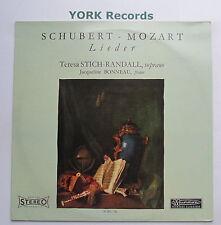 30 RC 746 - SCHUBERT - MOZART - Leder TERESA STICH-RANDALL - Ex Con LP Record
