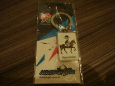 LONDON 2012 OLYMPIC PARALYMPIC PICTOGRAM MANDEVILLE EQUESTRIAN MASCOT KEYRING