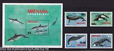 Granada (las Granadinas) - 1982 guardar la ballena-U/M-SG 537-540 + MS541