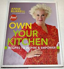 Signed Anne Burrell ~ OWN YOUR KITCHEN Recipes to Inspire & Empower Cookbook 1st