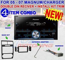 05 06 07 DODGE MAGNUM CHARGER PIONEER AM/FM BLUETOOTH USB CAR RADIO STEREO PKG