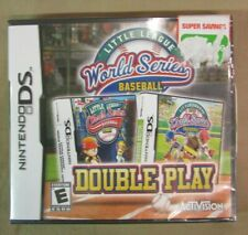 Little League World Series Baseball: Double Play (Nintendo DS, 2010) DS NEW game