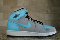Nike Air Jordan 1 Retro High OG Size 7Y Wolf Grey Tide Pool Blue 332148 027