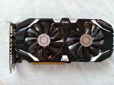 MSI GeForce GTX 1060 (3gb) tarjeta gráfica OC, defectuoso