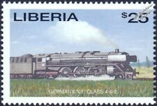 DRG (German Railways) Class 01 4-6-2 Express Steam Train Locomotive Stamp #7