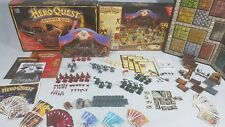 HEROQUEST Advanced Quest EDITION Board Game 100% Complete, unpainted [ENG,1989]