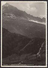 AA4010 Brescia - Provincia - Gruppo Adamello e la Cascata di Avio - Postcard