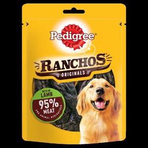 Pedigree Ranchos Dog Treats With Lamb 70g (Pack of 7)