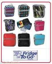 ❤ Fridge To Go Medium Lunchbox COOLER BAG 8 Design 8 Hours Cold Cool Kids Baby ❤