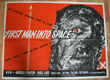The First man into space Original UK Quad film poster