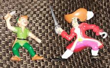 Bully Bullyland Disney Peter Pan & Captain Hook pvc dueling figure set - Germany