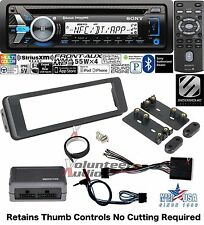Sony 98-2013 Harley Marine Radio Touring Install Adapter FLHT CD Dash Kit FLHX