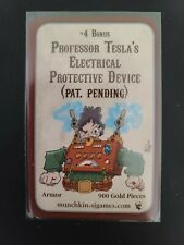 Munchkin Steampunk - Professor Tesla's Electrical Protective Device - Promo