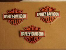 3 LOT HARLEY DAVIDSON BAR & SHIELD (INSIDE) DECALS NEW