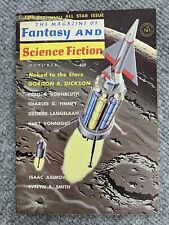 The Magazine of Fantasy & Science Fiction October 1961  KURT VONNEGUT Dickson
