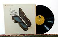 A David Oistrakh Concert, Recorded in USSR, LP 1974, Classical - NM Vinyl