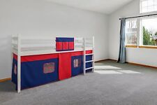 BED TENT Cabin Bed Tent Mid Sleeper Tent Bunk Bed Curtain FREE POCKET RRP 14.99