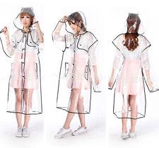 Kawaii Clothing Cute Ropa Raincoat Transparent Jacket Coat Harajuku Long Short