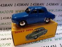 Voiture 1/43 réédition DINKY TOYS atlas : Renault Dauphine bleu en boîte