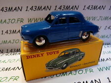 Macchina 1/43 ristampa DINKY TOYS atlas : Renault Dauphine blu in scatola