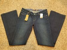 New Paige Jeans Women's Premium Denim Laurel Canyon Flare Sz 29  Deep Blue USA