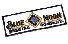Blue Moon brewing birra USA Mend FERRO TOPPA PATCH RICAMATO Adesivo birra