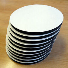 10x Double Sided Self Adhesive 140mm Circular Foam Pads (LV)