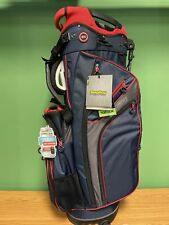New listing New Bag Boy Golf- Chiller Hybrid Stand Bag Navy/charcoal/Red