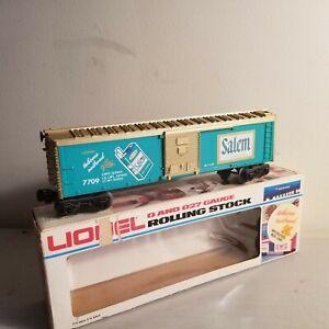 LIONEL 6-7709 Salem Box Car<++++>Original Box<++++>