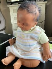 Reborn Black Ethnic Baby Boy 18'' approx.