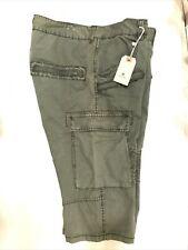 Jetlag Men's Olive Bermuda Cargo Shorts Size 42 NWT