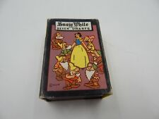 "Russell Card Games ""Snow White"" Disney Vintage / Antique"