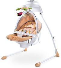Electrical Swings Caretero Bugies Beige Baby Bouncer up to 12 kg