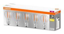 5er PACK Osram LED Base Classic Filament Lampe A60 E27 7W 2700K wie 60W
