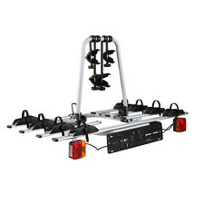Bicycle Bike Carrier Rack w/ Tow Ball Mount Tail Lights Carrys up to 4 Bikes