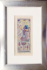Fritz ARLT 1887-1966 Orientalisches Motiv 1001 Nacht Aquarell Jugendstil München
