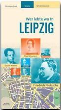 Wer lebte wo in LEIPZIG - Praktischer Reisebegleiter mit 96 Seiten, über 120 Bil