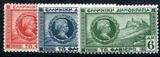 GRIECHENLAND 1927 318-320 ** POSTFRISCHER SATZ (I1569