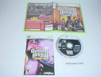GUITAR HERO III: LEGENDS OF ROCK game complete w/ manual for Microsoft XBOX 360