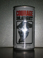 370ML COURAGE DRAUGHT EXPERT DRINKER BEER CAN