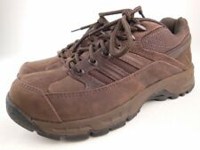 NEW BALANCE 749 Brown Leather Country Walking Trail Shoes Sz 6.5 B