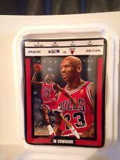 "1997 Michael Jordan ""IN COMMAND"" Collector Plate Bradford EX/Upper Deck"
