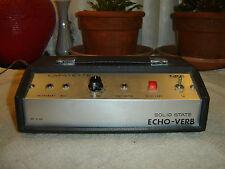 Lafayette Echo Verb, Original, Spring Reverb, Vintage Unit