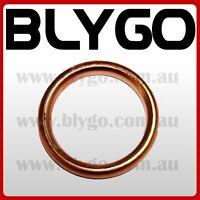 32mm Copper Exhaust Pipe Gasket 110cc 125cc PIT PRO Quad Dirt Bike ATV Buggy