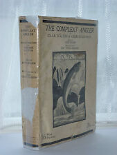 Izaak Walton - The Compleat Angler 1927 Edition HB DJ