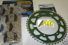 Kawasaki KX 125 92-07 Renthal 520 R1 Chain & Sprocket Set 13T 48T Green