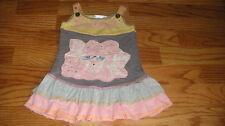 BOUTIQUE BABY SARA 12M 12 MONTHS FLOWER DRESS- UNIQUE